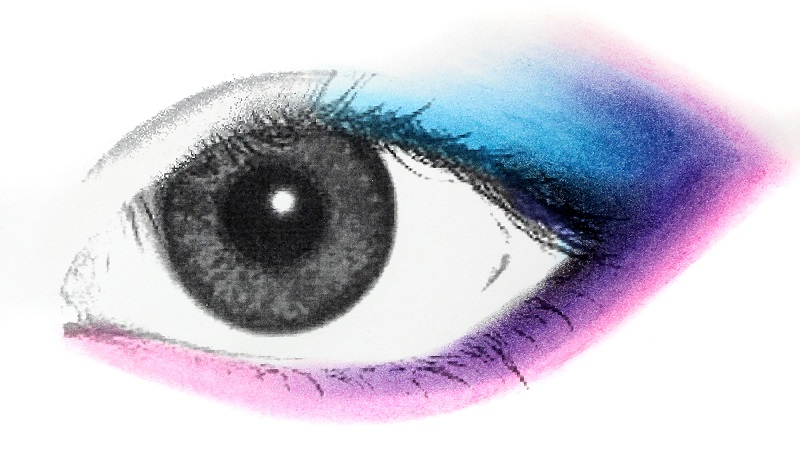 eyeshadow and eye color