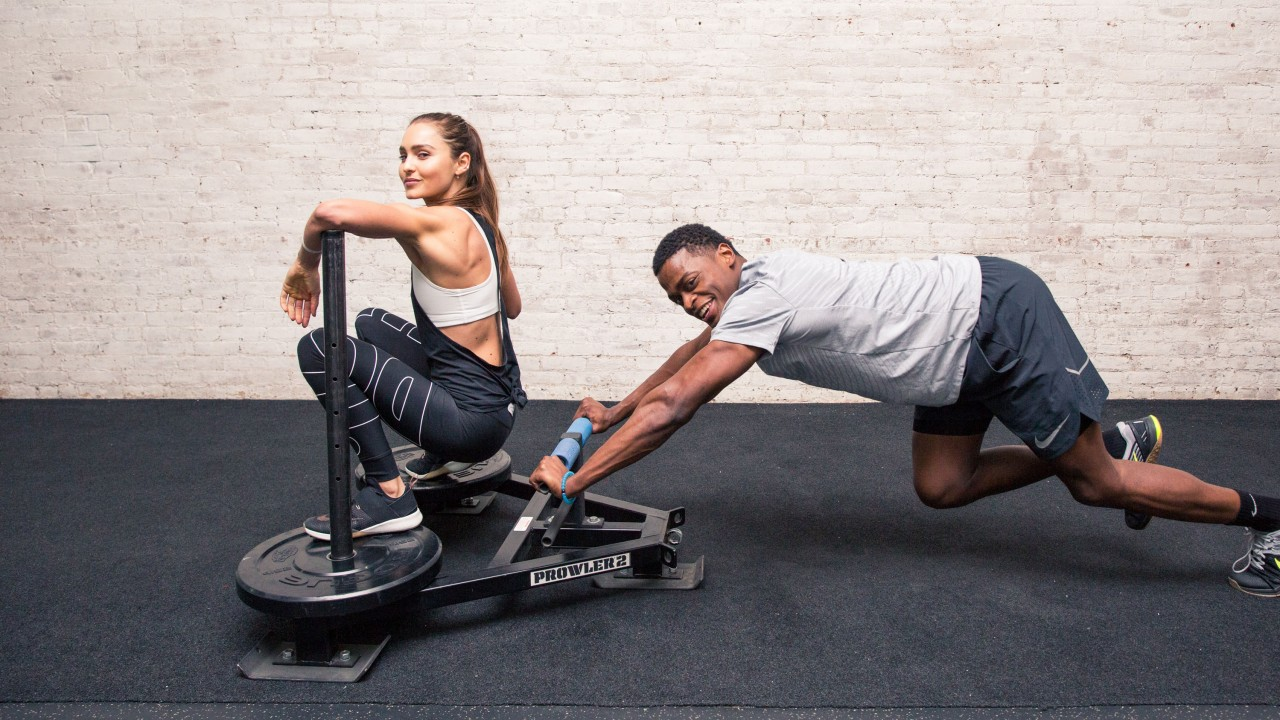 weight training exercises at home