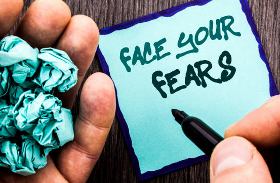 How to lose your fear of fear